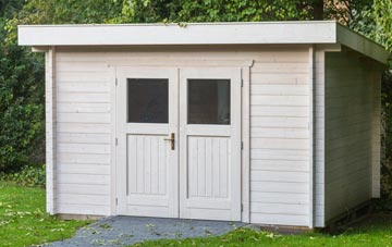 Bath garden shed costs